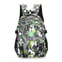 A grande capacidade de camuflagem do exército mochila de nylon Impermeável leve homens bolsa de viagem saco de escola para o menino lazer saco cara Durão