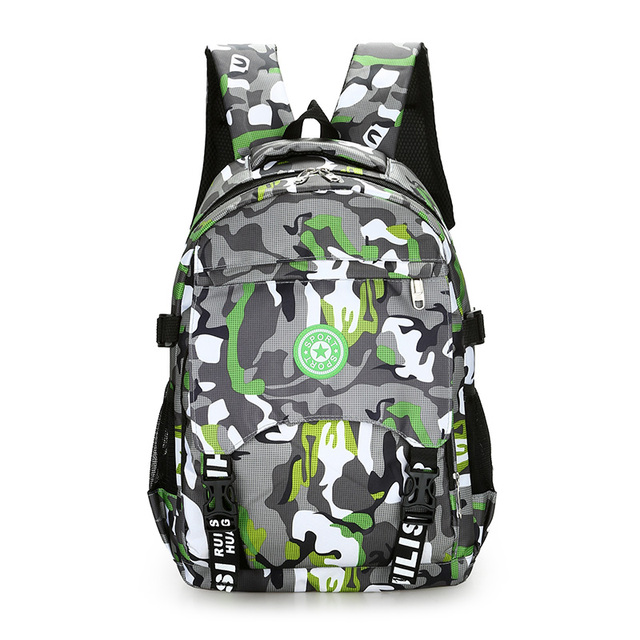 8074da268d1a The large capacity army camouflage backpack Waterproof nylon lightweight  men travel bag Tough guy school bag for boy leisure bag