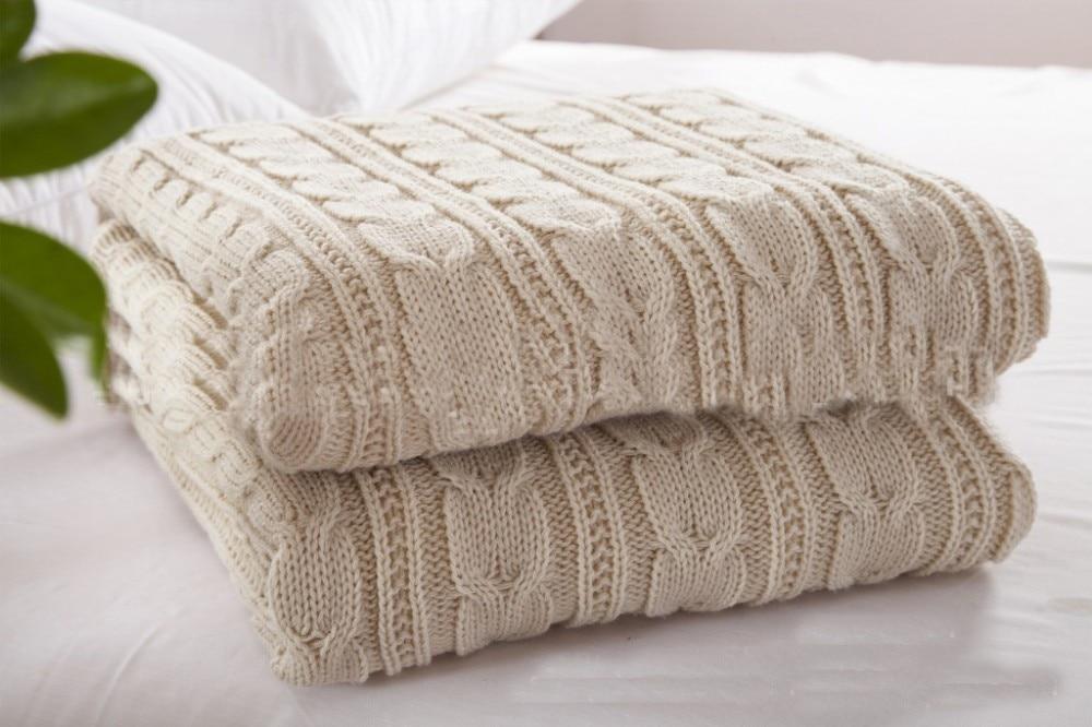 Bon Cotton Knit Throws Home Ideas
