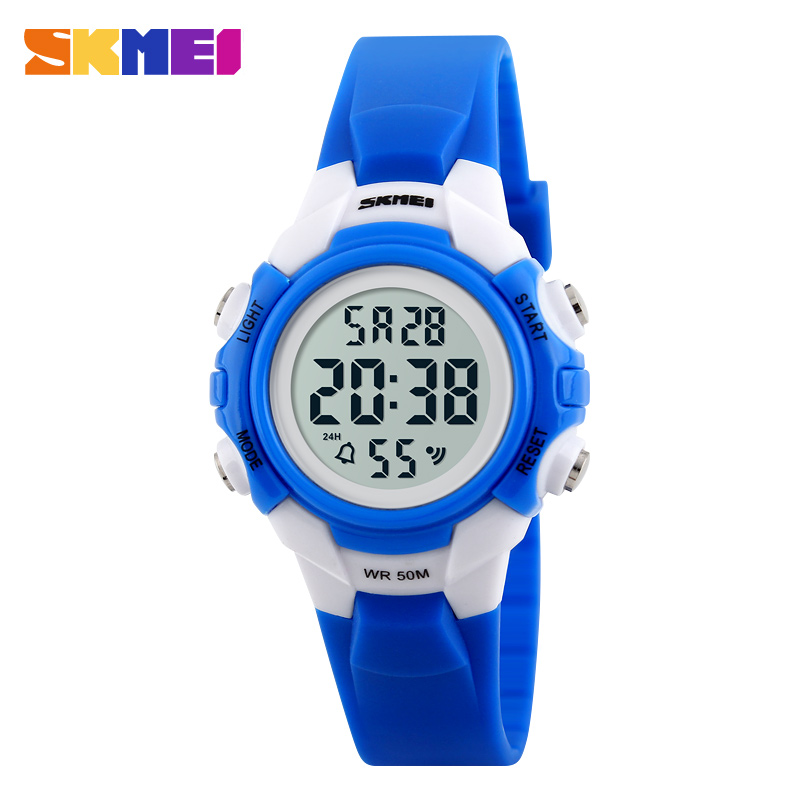 Hot Sale SKMEI 1183 Brand Children Watches LED Digital Watch 50m Waterproof Wristwatch Fashion Casual Watch Select Gift For Kid