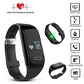 New Smart Bracelet Heart Rate Monitor Wristband Bluetooth 4.0 Passometer Sports Fitness Tracker Smartband  for Android iOS phone