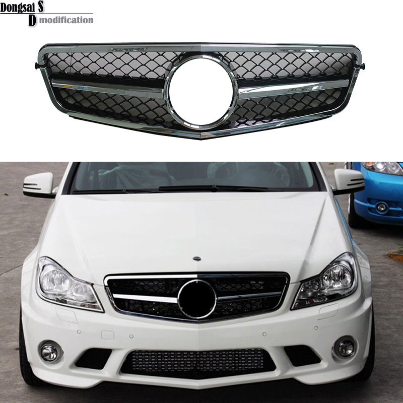 Popular mercedes benz w204 grill buy cheap mercedes benz for Mercedes benz grills