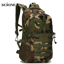 Tactical Military Camouflage Backpack Women Men Outdoor Hiking Camping Backpacks Oxford Travel Rucksack Molle Waterproof XA1465A