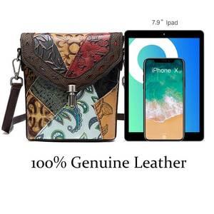 Image 5 - MVA lüks çanta kadın/bayan hakiki deri çantalar küçük kadın/kadın omuz çantaları klasik postacı çantaları kadınlar için 86388