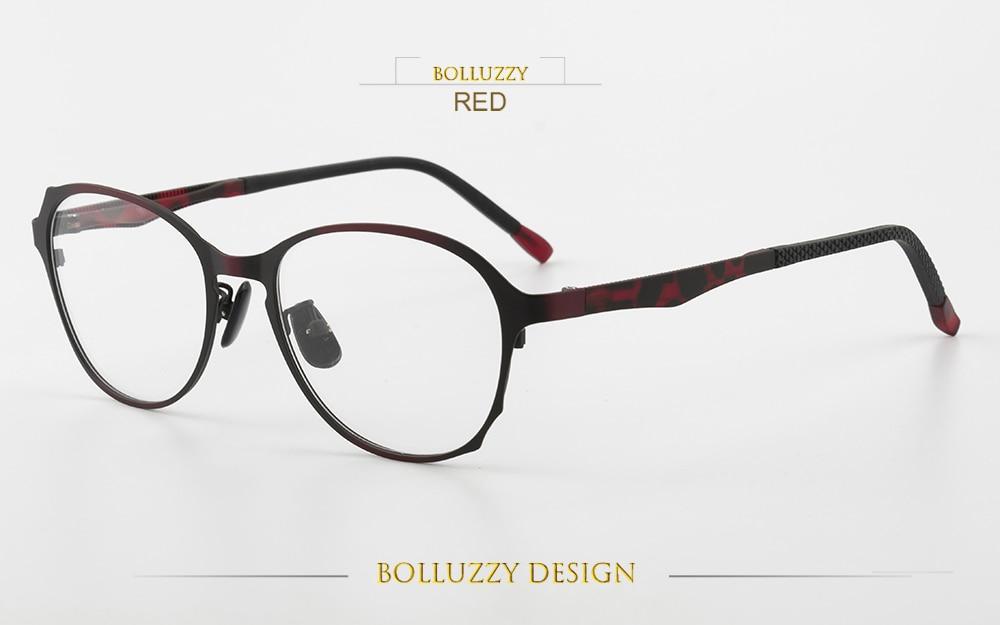 4d704aea3 ᐊالرجال النساء أزياء درجة إطار نظارات العين ارتداء النظارات كامل ...