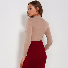Casual Comfortable Long Sleeve Knitted Women's Pullover