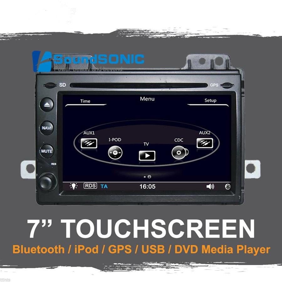 Pour Land Rover Freelander 2Din autoradio DVD stéréo GPS Navigation Navi Sat unité de tête multimédia Center multimédia lecteur Audio vidéo