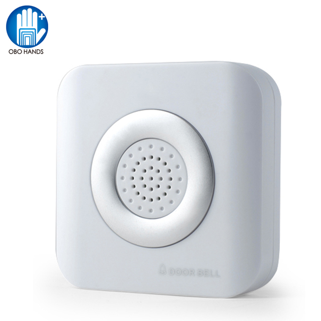 Wired 12VDC Door Bell with 4 wires doorbell access control dingdong bell ABS for Electric Security System don't need battery