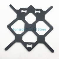 Funssor Black color Reprap Prusa i3 MK3 Aluminium bed support For DIY Prusa i3 3D Printer