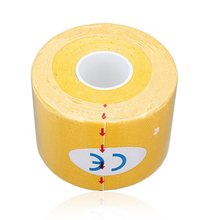 SZ-LGFM-1 Roll Muscles Care Fitness Athletic Health Tape 5M * 5CM – Yellow