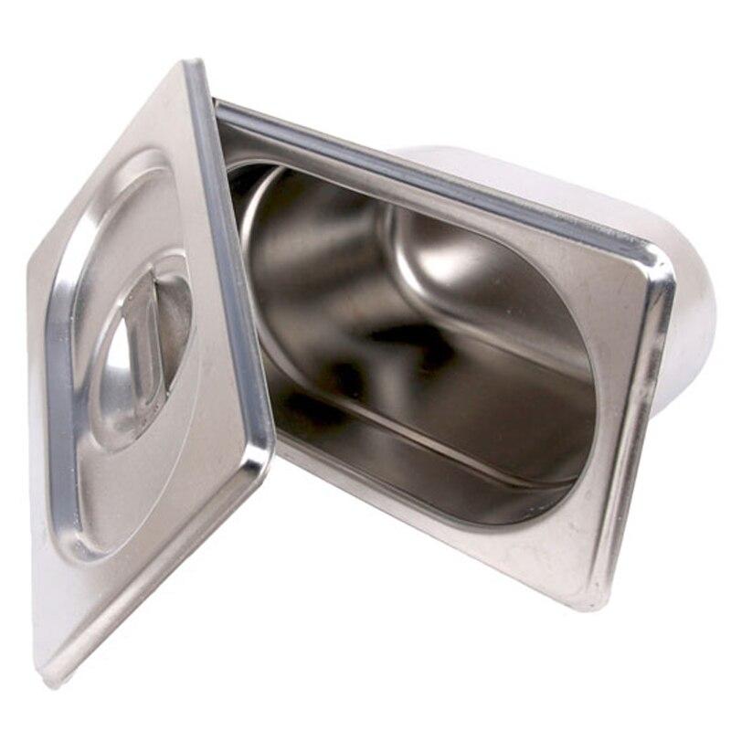 Кухонные принадлежности 6 шт./лот 1/9 GN Сковорода Из Нержавеющей Стали 176*162 мм жаровня буфет Cozinha для домашнего использования