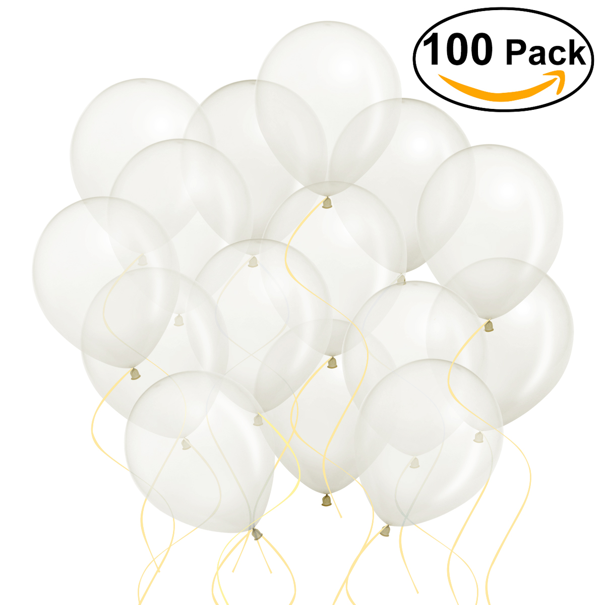 100pcs 12 Inch Bright Color Latex Metallic Balloons Pearl Wedding Party Happy Bi