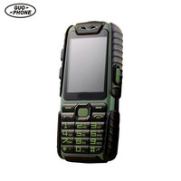 Guophone A6 Mobile Phone 9800mAh Superbattery Power Bank Phone Daily Waterproof Shockproof Dual Sim 2 4