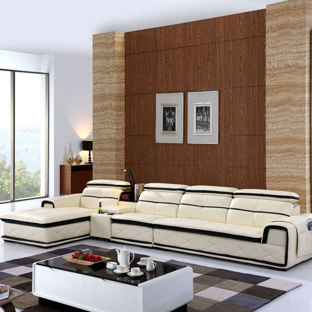placeholder 2014 new dubai furniture sectional luxury and modern corner  leather living room arab l shaped 1