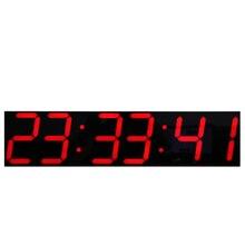 Oversize светодиодный цифровой настенные часы с удаленным Управление большой Температура календарь Дисплей Поддержка Обратного Отсчета Секундомер
