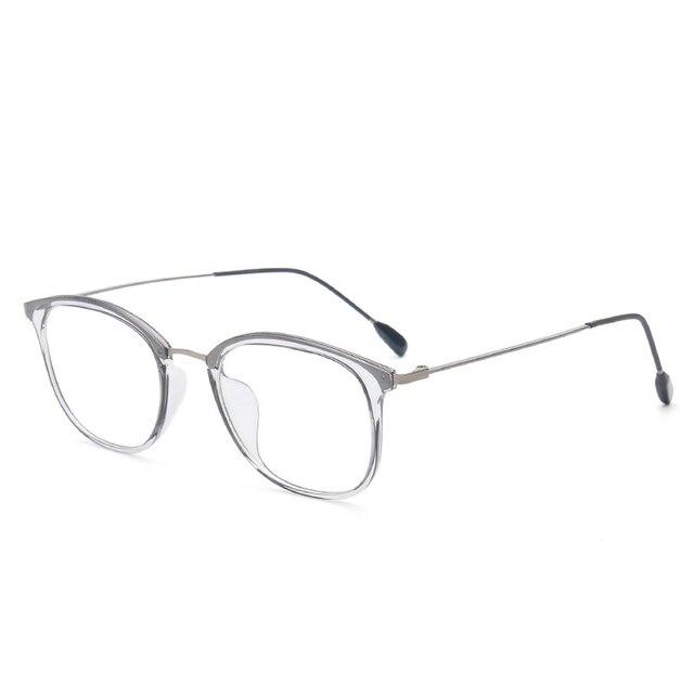 Vazrobe (9.2g) TR90 Transparent Glasses Frame Men Women Gray Pink ...