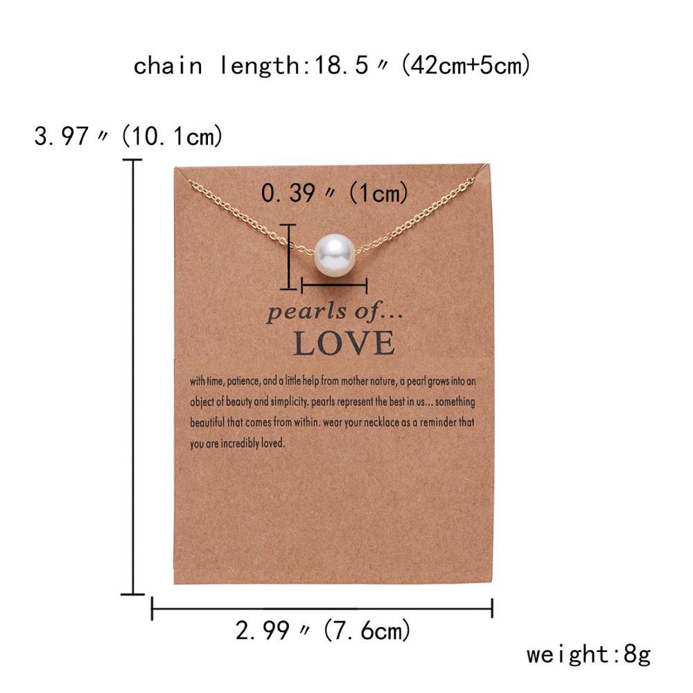 Rinhoo бабочка слон жемчуг любви золотого цвета Кулон ожерелье s цепочки на ключицы ожерелье модное ожерелье женские ювелирные изделия - Окраска металла: 1