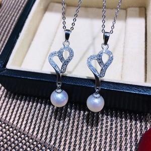 Image 1 - ホット絶妙なペンダントマウントペンダント所見設定ジュエリー部品継手アクセサリー真珠のために、サンゴ、翡翠ビーズ、石