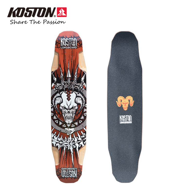 KOSTON Professional Multifunction Longboard Decks All-Round Skateboard Decks Long Skateboard 40 Inch 9ply Canadian Maple Pressed koston longboard skateboard scooter black skate helmet