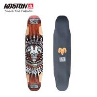 KOSTON Professional Multifunction Longboard Decks All Round Skateboard Decks Long Skateboard 40 Inch 9ply Canadian Maple Pressed