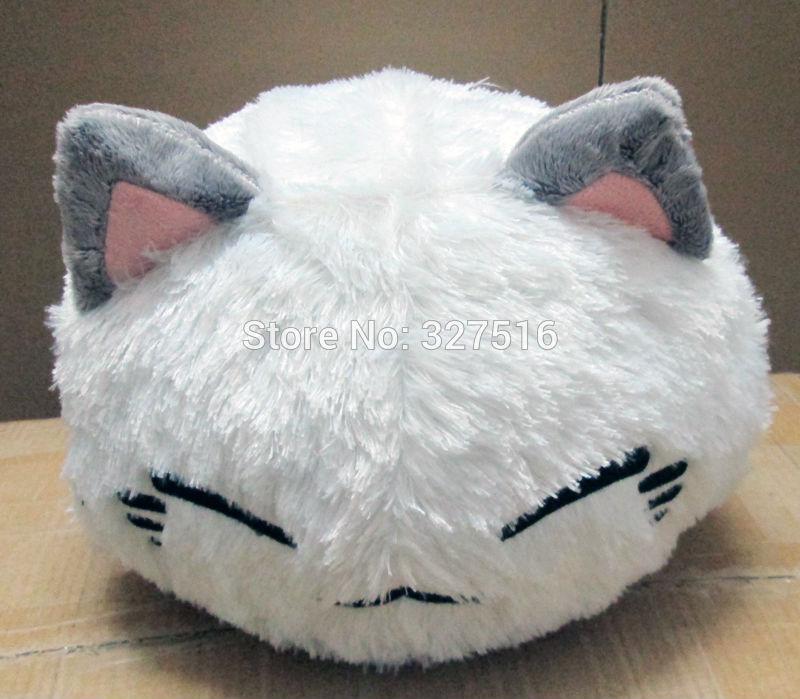 38 CM cartoon nemuneko sleeping cat soft plush doll toys cute neko styles cat pillow Wholesale and retail Free Shipping недорго, оригинальная цена