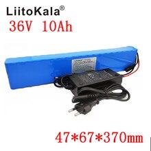 LiitoKala 36 v 10Ah 10S4P 18650 batterie Rechargeable, vélos modifiés, chargeur de batterie de véhicule électrique 18650 li lon