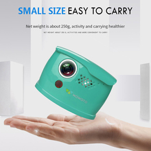 WOWOTO Mini Blue Projector Manual Focus 854*480 Resolution Wi-Fi Bluetooth LED Portable HD For Home Entertainment Q1