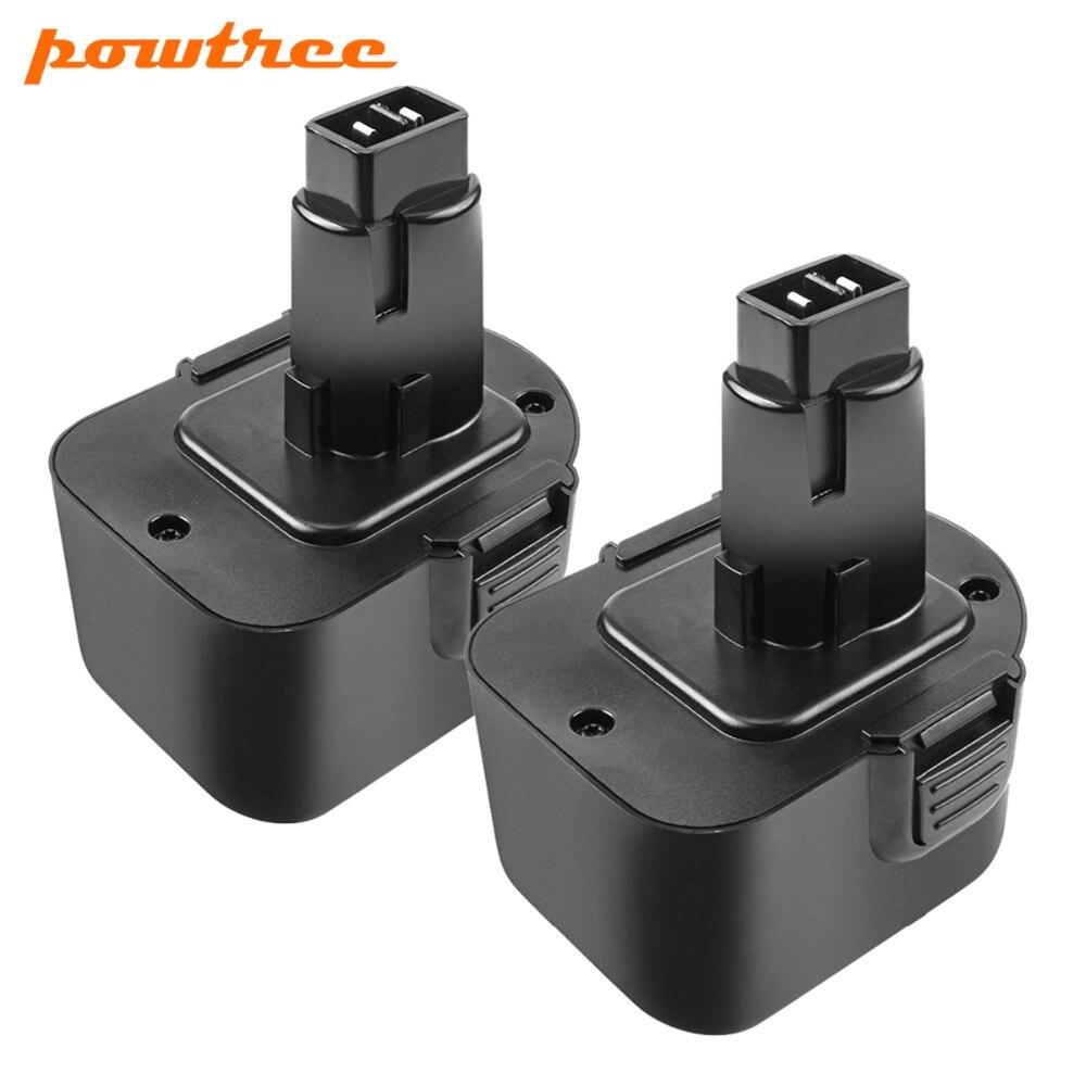 2X2000 mAh 12 V DC9071 batterie rechargeable Pour Dewalt DW9072 DW9071 DC9071 DE9037 DE9071 DE9072 DE9074 DE9075 152250- 27 L10