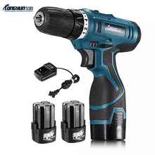 16.8v Adjust speed Rechargeable Lithium-ion Battery home Hand Cordless Drill bit home Electric screwdriver Wrench power tool set(China (Mainland))