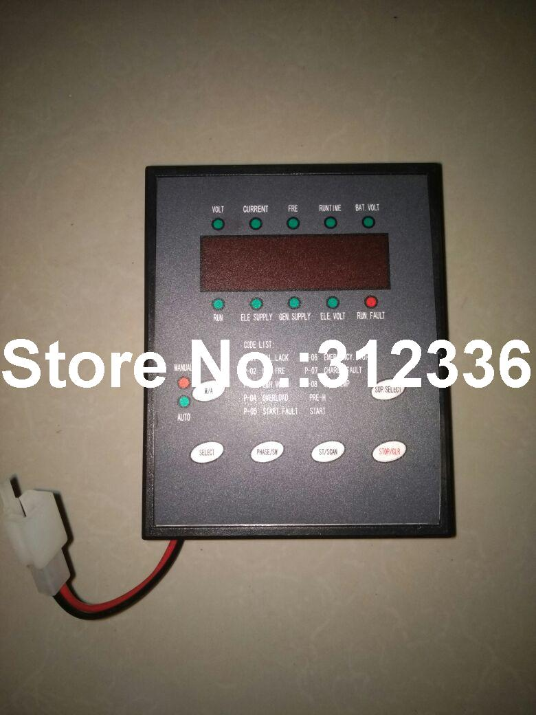 Free shipping Three Phase KI-MB3-ATS-D KI-MB3(ATS)-D KI-MB3(-ATS)-D Control Screen generator suit for kipor Kama 10~100kW ats