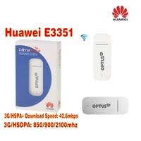 HUAWEI E3351 42.6MBPS HSPA+ 4G 3G WIRELESS MOBILE CELLULAR BROADBAND MODEM USB DONGLE UNLOCKED
