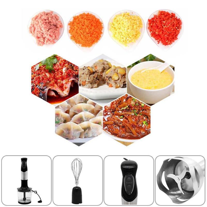 220-240V Home Electric Handheld Food Mixer Juicers 500W Multifunctional Meat Grinders Blender Eggbeater Kitchen Tool food mixer eggbeater electric mini cream baking mixer eggbeater hand