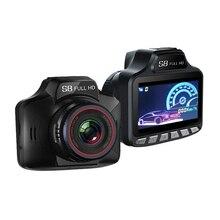 3 в 1 Автомобильный dvr Радар-детектор Full HD 1080 P камера видео рекордер трек запись лазер с gps Русский предварительный предупреждение данных DY310