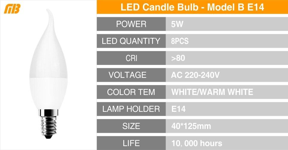 E14 E27 LED Bulb Lamp Series_13