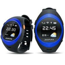 FineFun 2016 S888 Wasserdichte Bluetooth Smart Uhr Kinder Elder SOS GPS GSM Tracking Smartwatch anti-verlorene Für iOS Android