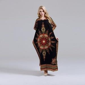 Image 3 - Dashikiage חדש הגעה נשים של 100% כותנה אפריקאי הדפסת דאשיקי מדהים אלגנטי אפריקאי גבירותיי שמלה