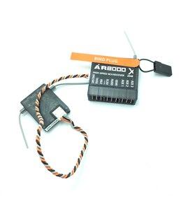 Image 1 - AR8000 8CH Empfänger w/ Remote Satellite SPMAR8000 RX für DSMX DX9 DX8 Quadcopters hubschrauber flugzeug