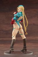 Street Fighter Bishoujo Statue Cammy White Sexy Alpha Costume 1/7 Scale PVC Action Figure Collectible Model Toys Doll 22cm