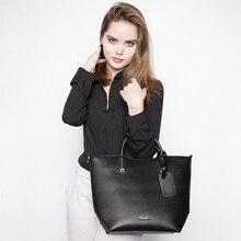 REALER women handbag women large bucket shoulder bag female high quality artificial leather tote bags fashion top-handle bag