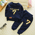 Brand KW 2-7 Winter Children Clothing Sets Boys Girls Keep Warm Long Sleeve Sweaters+Pants Kids Clothes Sports Suit for Girls