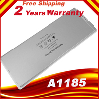 White Notebook Battery A1185 For MacBook 13 Worldwide Free Shipping