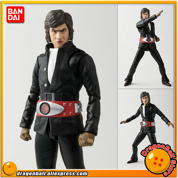 Original BANDAI Tamashii Nations S.H. Figuarts / SHF Action Figure - Takeshi Hongo 100% original bandai tamashii nations s h figuarts shf action figure spider man homecoming
