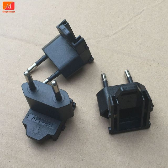 2PCS/lot APD US PLUG Switch connector adapter for APD power supply US EU Plug available