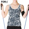 FORUDESIGNS Women Crop Tops 3D Sexy Lace Rose Printed Womens Tank Top Fashion Ladies Casual Sleeveless