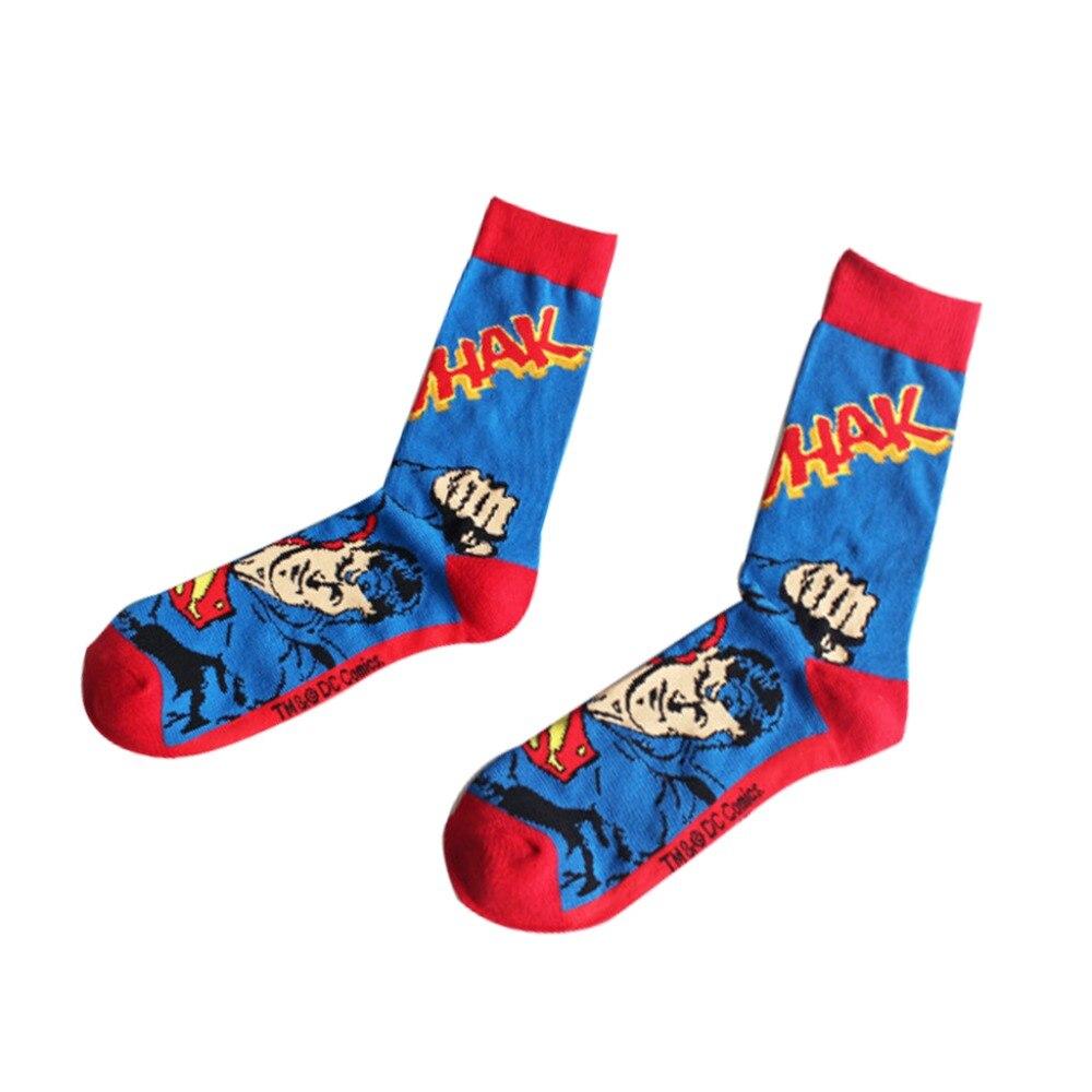 Harajuku-Super-Hero-Batman-Cotton-Socks-marvel-comics--Cosplay-elastic-cotton-Long-Cosplay-Punisher-Skate(4)