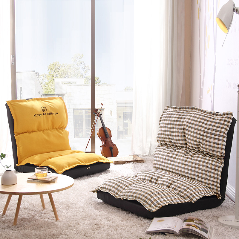 Furniture Home Furniture Lazy Couch Single Computer Bedroom Balcony Small Sofa Chair Tatami Folding Creative Neither Too Hard Nor Too Soft
