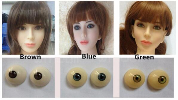 eye color options for your sex doll