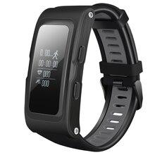 Mindkoo T28 Фитнес трекер умный Браслет Поддержка GPS послужной список Температура высота сердечного ритма Смарт Браслет