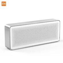 Original Xiaomi Bluetooth Lautsprecher HD Stereo Tragbare Drahtlose Lautsprecher Square Box 2 V 4,2 1200mAh Aux Line in hände freies mit Mic