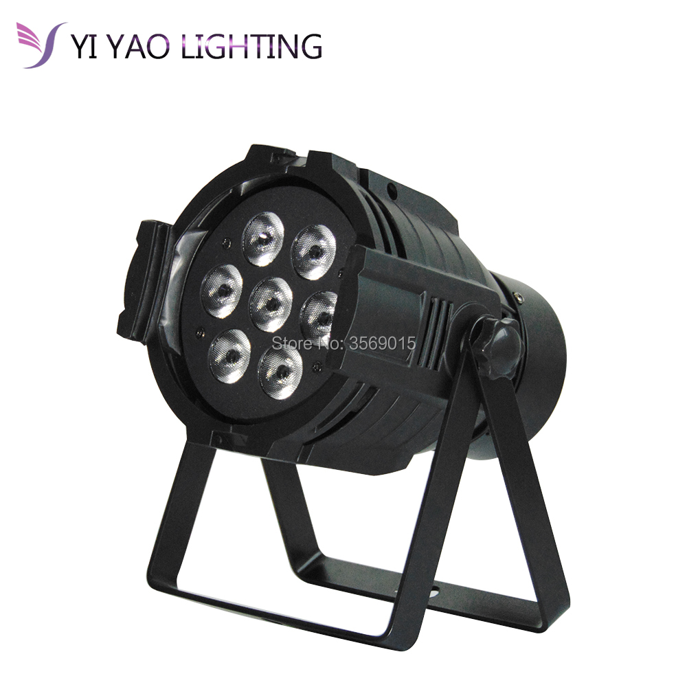 7x12W Aluminum Alloy LED Par Can RGBW 4IN1 disco party dj Stage Lighting7x12W Aluminum Alloy LED Par Can RGBW 4IN1 disco party dj Stage Lighting